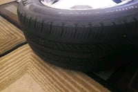 black auto tire with tire Alexandria, 22304