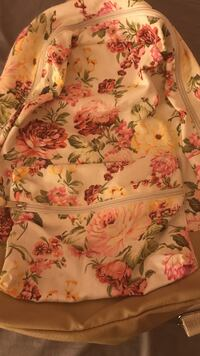 Pink and white floral backpack Hollidaysburg, 16648