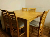 Six chair wooden table Tucson, 85713