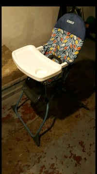 Cosco baby high chair.