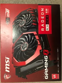 Msi RX 480 Gaming X 8GB  Mississauga, L5R 3H4