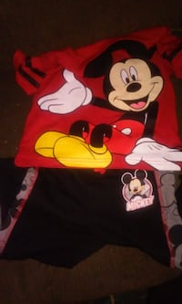 mickey mouse outfit $11 size 24 months