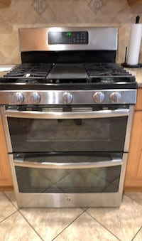 GE double oven gas stove Commack, 11725