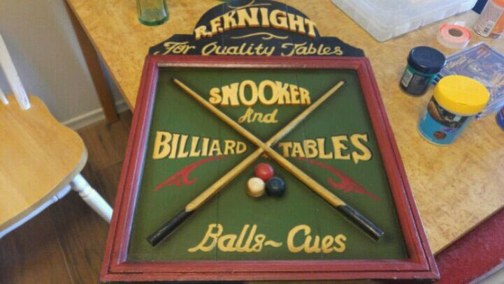 Used, square brown and green Snooker and billiard tables for sale  Belleville