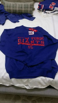 blue and red print new york giants sweater Ocean County, 08701