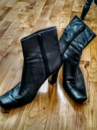 Leather Nine West Boots, sz 8.5 m Milford, 01757