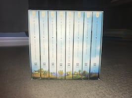 Anne of Green Gables book set.