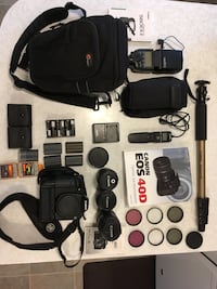 Canon EOS 40D and gear