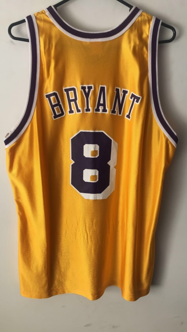 00a640bb05d Used Kobe Bryant Lakers  8 Jersey 48 for sale in Columbus - letgo