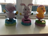 Sun activated Easter toys