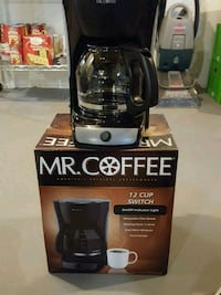black and gray Mr.Coffee 12-cup switch coffeemaker Fairless Hills, 19030
