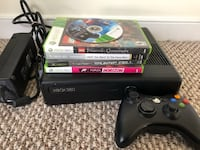 Microsoft XBOX 360s with controller, 250GB drive, power adapter,and games. Washington, 20003