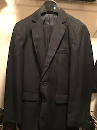 Black notch lapel suit jacket Cary, 27519