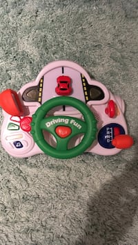 green and white Fisher-Price learning toy Brampton, L6V 1S8