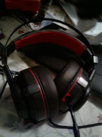 black and red corded headphones Weare, 03281