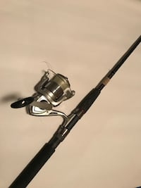 Ugly Stick GX2 Medium Heavy Spinning rod with Shakespeare spinning reel  Lakewood, 14750
