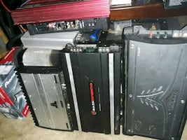 Amplifiers  for car / subwoofers / old school
