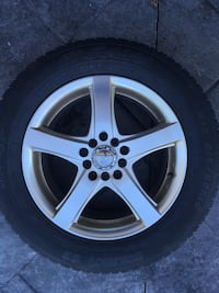 4 Snow Tires with Rims 215/60R 16. Vaughan