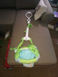 baby's green and white jumperoo Oxford, 19363