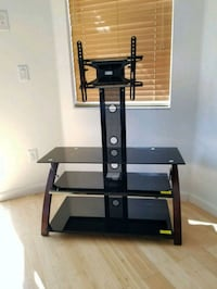 black glass TV stand with mount Tampa, 33625