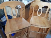 Solid High Wooden Stools null, T9E