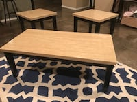 Coffee table and 2 side tables $40 San Marcos, 78666