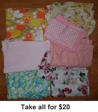 Twin Bedding (Take all for $20)