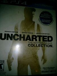Uncharted The Nathan Drake Collection PS4 game case Phoenix, 85017
