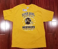 VTG NFL 1987 Washington Redskins NFC Champions Super Bowl T-Shirt Sz XL 46-48 Falls Church