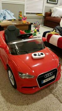 RED RADIO CONTROLLED Audi (Powerwheels-style) Alexandria, 22304