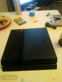 black Sony PS4 game console Austin, 78723