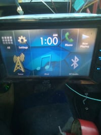 Jvc screen DVD radio