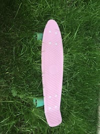 Pink and white penny board Calgary, T2W 4V2