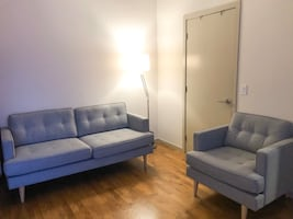 3 SEAT SOFA and a matching ARM CHAIR