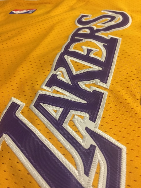 a65ea763345 Used New Nick Van Exel Los Angeles Lakers Vintage Rare Jersey Mens ...