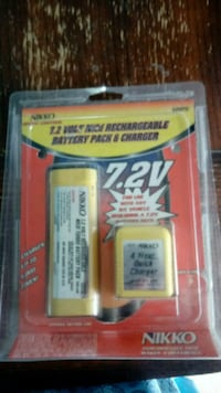 Nikko rechargeable battery pack and charger Ijamsville, 21754