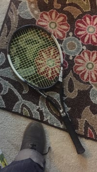 black and gray Prince tennis racket Alexandria, 22312