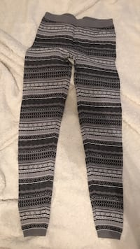 Grey and black tribal print leggings  Marana, 85743