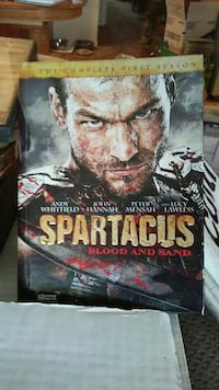 Spartacus DVD collection