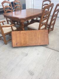 brown wooden dining table set Las Vegas, 89130