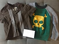 Boys sweater and button down - 3T  Columbia, 21044