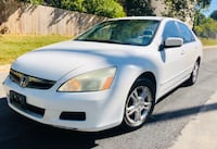 **Pearl White ** 2006 Honda Accord LX !! Drives Excellent!!  Silver Spring