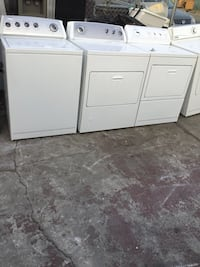 White front-load clothes washer and dryer set Oakland, 94621