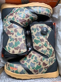 Size 13 Thirtytwo Camo Snowboard Boots Newtown, 06470