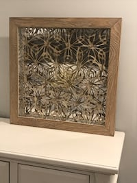 Decorative mirror/wall art from homesense Grimsby, L3M