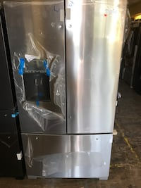 """WHIRLPOOL 36"""" FRENCH DOOR REFRIGERATOR STAINLESS STEEL WITH DISPENSER  Palisades Park, 07650"""
