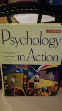 Psychology in action 5th edition  Severn, 21144