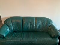 Green couch and love seat  Edmonton, T6J