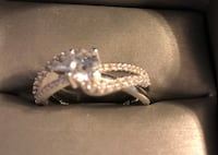 Sterling Silver ring size 11 800 mi