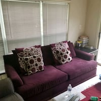 Used Purple Sofa Fairfax, 22030